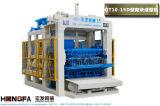Het volledig Automatische het Bedekken Blok die van de Baksteen van het Cement Concrete Machine maken