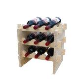 Полки индикации стойки хранения Stackable модульного шкафа вина Stackable