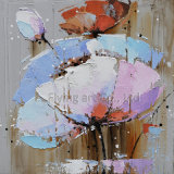 Pintura al óleo de la flor de la reproducción del impresionismo