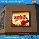 P16 DIP LED de publicidad al aire libre de la pantalla del módulo