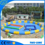 Grande piscina gonfiabile rotonda del parco a tema gonfiabile