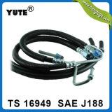 """Manguito del manejo de potencia del SAE J188 del negro 3/8 """" para las piezas de Mazda"""