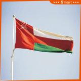 Su ordinazione impermeabilizzare e modello no. della bandierina di Omannational della bandiera nazionale di Sunproof: NF-029