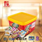 Het economische Koekje van de Koekjes van de Crackers van de Verpakking van de Familie van de Plastic Doos Fabelachtige