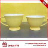 Caneca de café cerâmica vitrificada da faiança