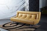 豪華なPUの革折るソファーベッド