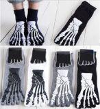 Zehe-Socke des Knochenpatten-Form-Entwurfs-fünf