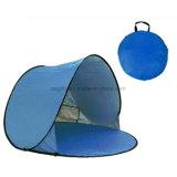 Heißer verkaufender automatischer UVschutz, der bewegliches im Freien kampierendes Strand-Zelt faltet