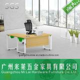 Мебель таблицы дома стола шикарного самомоднейшего стального офиса ноги 0Nисполнительный с бортовой таблицей