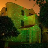 Indicatore luminoso di natale del laser con la rf Contol a distanza senza fili, esposizione del proiettore della stella del laser di Outdor
