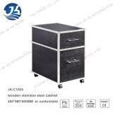 Einfacher modularer schwarzer Holz-und MetallmöbelSideboard Jk-C1005