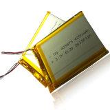 7.3X55X75mm 3.7V Navulbare Li-Polymeer 4250mAh Batterijcel met PCM en Draden