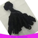 Волосы девственницы Stock скручиваемости тетеньки Funmi высокообъемной Romance индийские