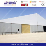 35m Large Aluminum Heavy Duty Warehouse Storage Tent with Rolling Shutter