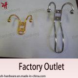 Одежды конструкции сплава цинка красивейшие и крюки кота (ZH-2005)