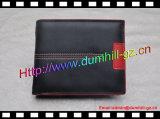 RFID de couro gerado que obstrui a carteira para homens