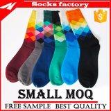 Kundenspezifische Socke mit Firmenzeichen-Mann-Geschäfts-Socken-Knöchel-Kleid-Socken
