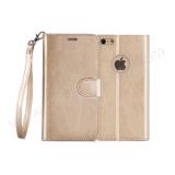 대량 판매 iPhone 7 가죽 덮개 사탕 가죽 지갑 상자