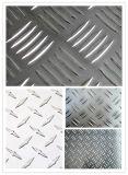 Штанга алюминия/алюминиевых Chequered плиты 5 для пола