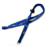 중요한 홀더를 위한 직물에 의하여 뜨개질을 하는 주문 로고 좁은 관 방아끈 가죽 끈 결박
