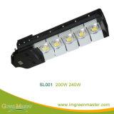 Qualität 50W 60W 100W 120W 150W 180W 200W 240W 300W PFEILER LED Straßenlaterne