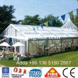 шатёр 500 Seater шатра случая партии рамки венчания пяди 15m напольное ясное