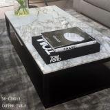 Дом гостиницы Hotsale самомоднейший KTV придал квадратную форму журнальному столу 2-Слоя (NK-CTA012)