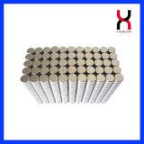 Freie Beispielerhältlicher permanenter kleiner runder Magnet