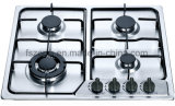 Acier inoxydable populaire classique en cuisinière à gaz Jzs54203