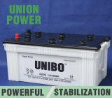 Secar a bateria acidificada ao chumbo padrão cobrada do barramento de JIS N200 12V200ah 12volt