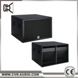 18 Zoll Subwoofer Zeile Reihen-Lautsprecher Berufs-DJ-Tonanlage