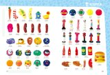 Dog Toy Vinyl Dog com pneus Pet Products