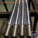 Вал точности части Lathe CNC фабрики Китая автоматическим покрынный кромом стальной линейный
