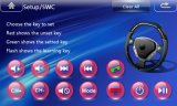 De Radio van de auto met Navigatie voor de Auto DVD van de Raad van het Streepje van Hyundai Verna/Solaris/Accent