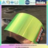 Enduit vert fluorescent de poudre de catégorie comestible de sucrerie transparente
