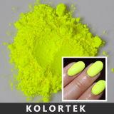 Pó fluorescente do pigmento do prego, fornecedor de néon do pigmento do esmalte de prego das cores brilhantes