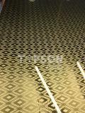 dekoratives Platten-Blatt des Edelstahl-201 304 316 mit Spiegel geätztem Ende 8k