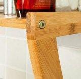 De Plank van de Handdoek van het bamboe, de Rekken van de Handdoek van het Bamboe, het Frame van de Handdoek van het Bamboe