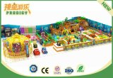 遊園地のいたずらな城のための屋内運動場の子供の運動場