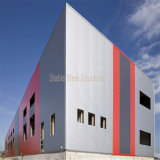 SGSの証明書が付いている鉄骨構造のCommericalの金属の建物
