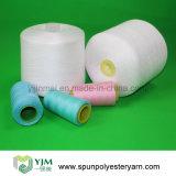 Poly amorçage de couture de ténacité élevée blanche crue sur le tube teint