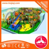 Labyrinthe d'intérieur de cour de jeu de forêt de château spécial de parc à thème