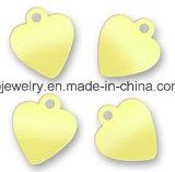 Piatto su ordinazione ovale accessorio di marchio del braccialetto piccolo