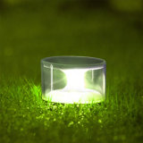 Luz ao ar livre do gramado do parque do jardim do diodo emissor de luz do painel solar da iluminação