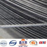 Fil d'acier à haute résistance/à haut carbone pour les dormeurs ferroviaires pré chargés