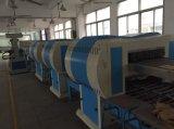 Verwendeter Fußbekleidung-Produktionszweig Schuh, der Maschine herstellt