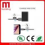 Cabo de dados cobrando da trança de nylon micro cabo do USB do USB ao micro