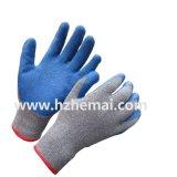 安い乳液は安全作業手袋に塗った