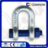 高い抗張合金鋼鉄は私達タイプボルトアンカー鎖の手錠/G2150低下Deeの手錠を造った