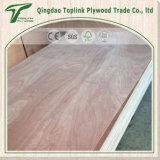 Contre-plaqué en bois de placage de peuplier de colle d'E1/E0 pour des meubles